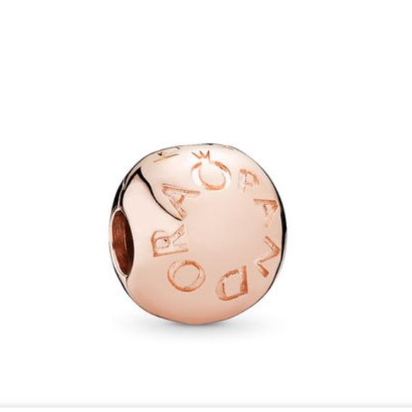 Pandora Jewelry - Loving Pandora Logo Clip, Pandora Rose ™